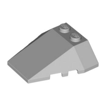 LEGO 4259547 ROOF TILE 4X2/18° W/COR. - MEDIUM STONE GREY