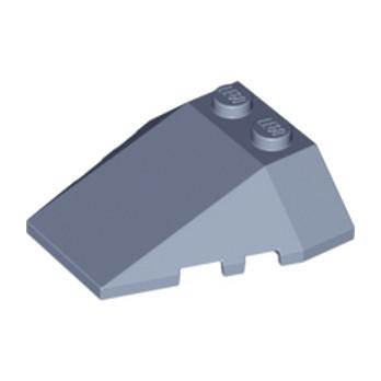 LEGO 4227793 ROOF TILE 4X2/18° W/COR. - SAND BLUE