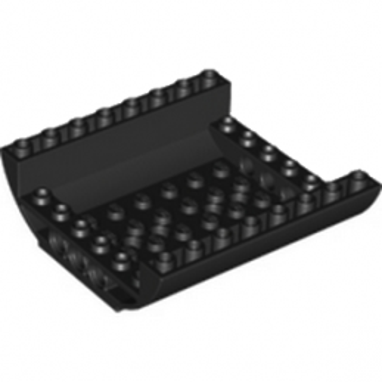 LEGO 6198175 MILIEU FUSELAGE BAS - NOIR