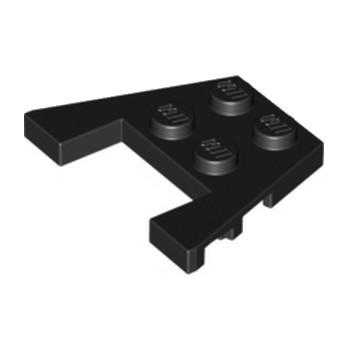 LEGO 4238912 PLATE 3X4 W/ANGLE - NOIR lego-6170529-plate-angle-coupe-3x4-noir ici :