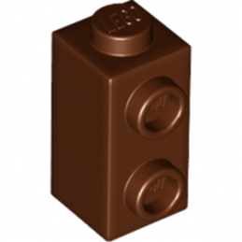 LEGO 6201911 BRIQUE 1X1X1 2/3 - REDDISH BROWN lego-6201911-brique-1x1x1-23-reddish-brown ici :