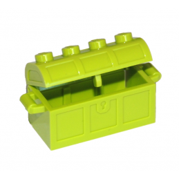 LEGO 4738 MALLE / COFFRE 2X4 - BRIGHT YELLOWISH GREEN