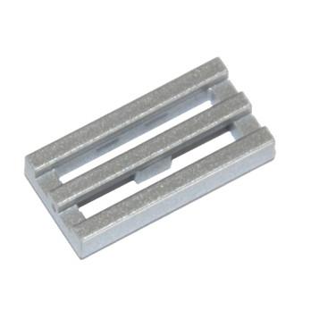LEGO 6051422 RADIATOR GRILLE 1X2 - METAL SILVER