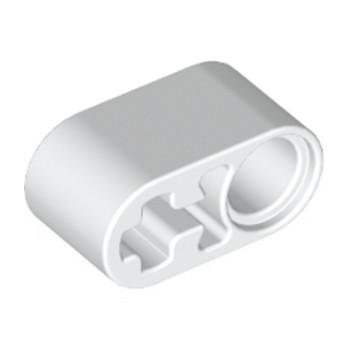 LEGO 6265135 BEAM 1X2 W/CROSS AND HOLE - WHITE