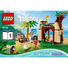 Notice / Instruction Lego Disney Princess - 41149