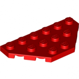 LEGO 241921 ANGLE PLATE 3X6 - ROUGE