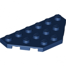 LEGO 4500066 ANGLE PLATE 3X6 - EARTH BLUE