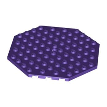 LEGO 6029584  PLATE OCTAGONAL 10X10 - MEDIUM LILAC