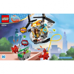 Notice / Instruction Lego Dc Super Hero Girls - 41234