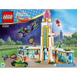 Notice / Instruction Lego Dc Super Hero Girls - 41232