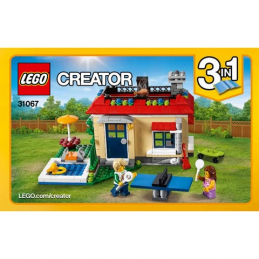 Notice / Instruction Lego Creator 3 en 1 - 31067