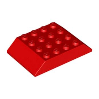 LEGO 3208321 TUILE 4X6 45° - ROUGE