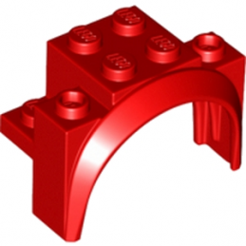 LEGO 6102586 GARDE BOUE 2X4X2 1/3 - ROUGE