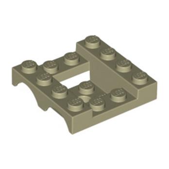 LEGO 6177186 GARDE BOUE 4x4x1 1/3 - SAND YELLOW