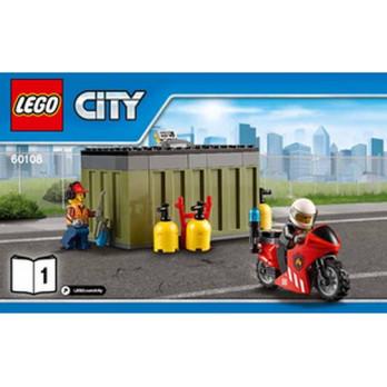 Notice / Instruction Lego City - 60108