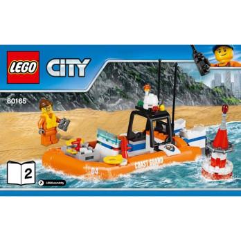 Notice / Instruction Lego City - 60165