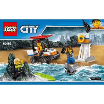 Notice / Instruction Lego City 60163