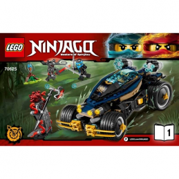 Notice / Instruction Lego Ninjago 70625 notice-instruction-lego-ninjago-70625 ici :