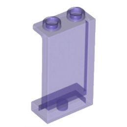 LEGO 6152449 WALL ELEMENT 1X2X3 - VIOLET TRANSPARENT