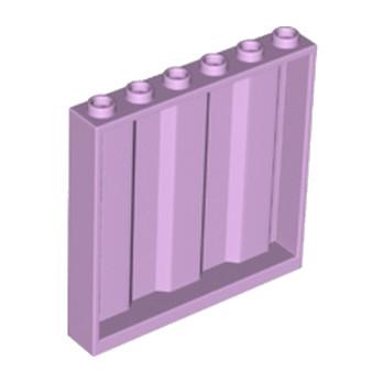 LEGO 6182191 MUR / CLOISON 1X6X5 CONTAINER - LAVENDER