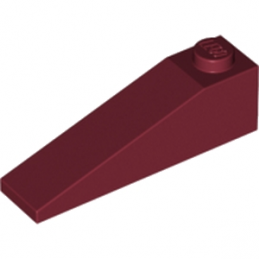 LEGO 6023330 TUILE 1X4X1 - NEW DARK RED