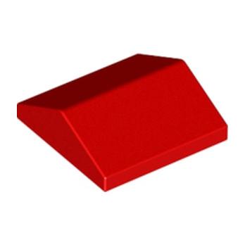 LEGO 330021TUILE 2X2/25° - ROUGE lego-330021tuile-2x225-rouge ici :