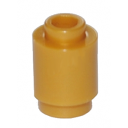 LEGO 6060800 BRIQUE RONDE 1X1 - WARM GOLD
