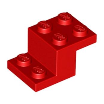 LEGO 6172642 BRIQUE PLATE 2X3X1 1/3 - ROUGE