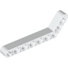 LEGO 6004144 TECHNIC ANGULAR BEAM 3X7 - BLANC