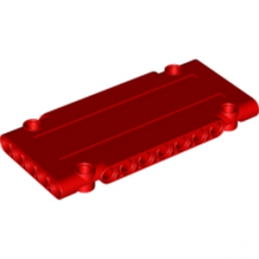LEGO 6064661 TECHNIC FLAT PANEL 5 x 11 - ROUGE