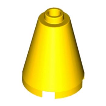 LEGO 394224 CONE 2X2X2 - JAUNE