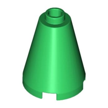 LEGO 394228 CONE 2X2X2 - DARK GREEN