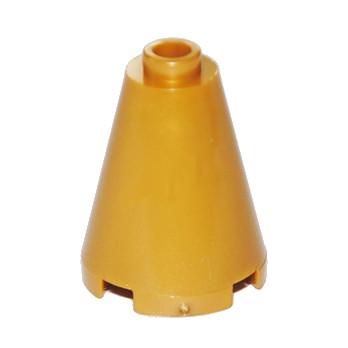 LEGO  6058391 CONE 2X2X2 - WARM GOLD