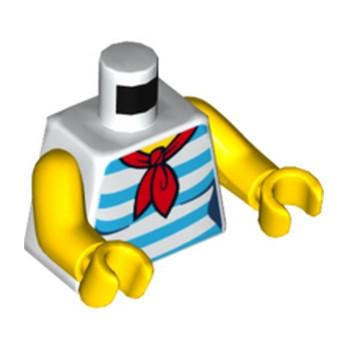LEGO 6192807 TORSE -  FEMME - HAUT MARIN