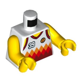 LEGO 6192747 TORSE -  JOUEUR DE BASKET