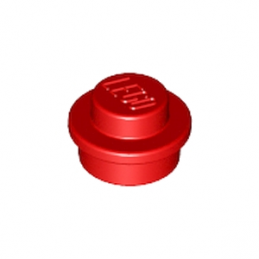 LEGO 614121 ROND 1X1 - ROUGE lego-614121-rond-1x1-rouge ici :