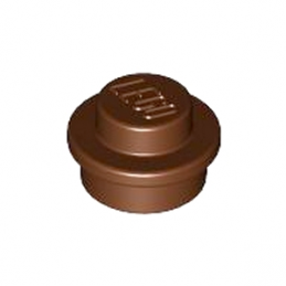 LEGO 4216581 ROND 1X1 - REDDISH BROWN lego-4216581-rond-1x1-reddish-brown ici :