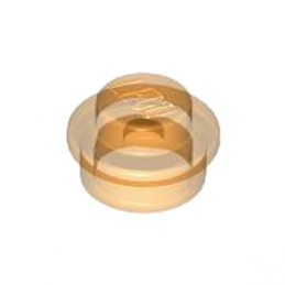 LEGO 4222960 ROND 1X1 - ORANGE TRANSPARENT