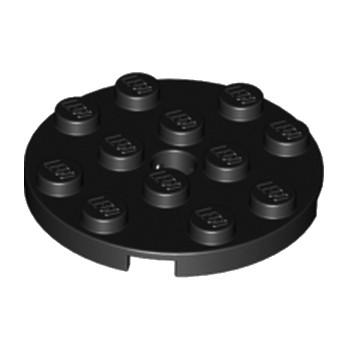 LEGO 4515350 PLATE ROND 4X4 - NOIR