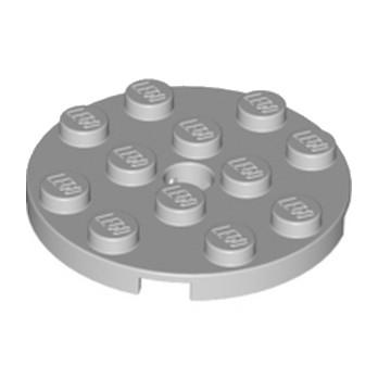 LEGO 4515351 PLATE ROND 4X4 - MEDIUM STONE GREY lego-4515351-plate-rond-4x4-medium-stone-grey ici :