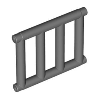 LEGO 4521886 GRILLE / ECHELLE 1X4X3 - DARK STONE GREY lego-4521886-grille-echelle-1x4x3-dark-stone-grey ici :