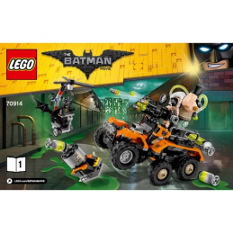 Notice / Instruction Lego  The Batman Movie 70914