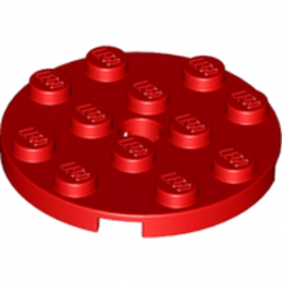LEGO 4515348 PLATE ROND 4X4 - ROUGE lego-4515348-plate-rond-4x4-rouge ici :