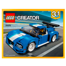 Notice / Instruction Lego Creator 3 en 1 - 31070
