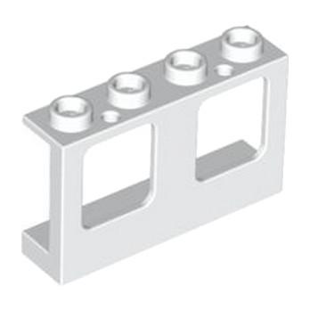 LEGO 4521846 FENETRE / HUBLOT 1X4X2 - BLANC