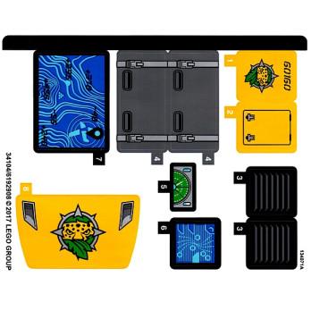 Stickers / Autocollant Lego City  60160