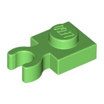 LEGO 6182195 PLATE 1X1 W. HOLDER - BRIGHT GREEN