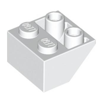 LEGO 366001 TUILE 2X2/45 INV  - BLANC