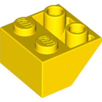 LEGO 366024  TUILE 2X2/45 INV - JAUNE