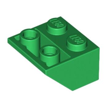 LEGO 366028  TUILE 2X2/45 INV - DARK GREEN